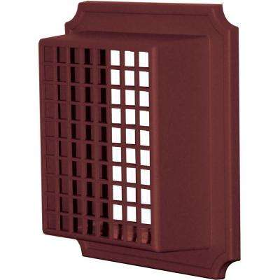 Small Animal Guard Exhaust Vent in Wineberry