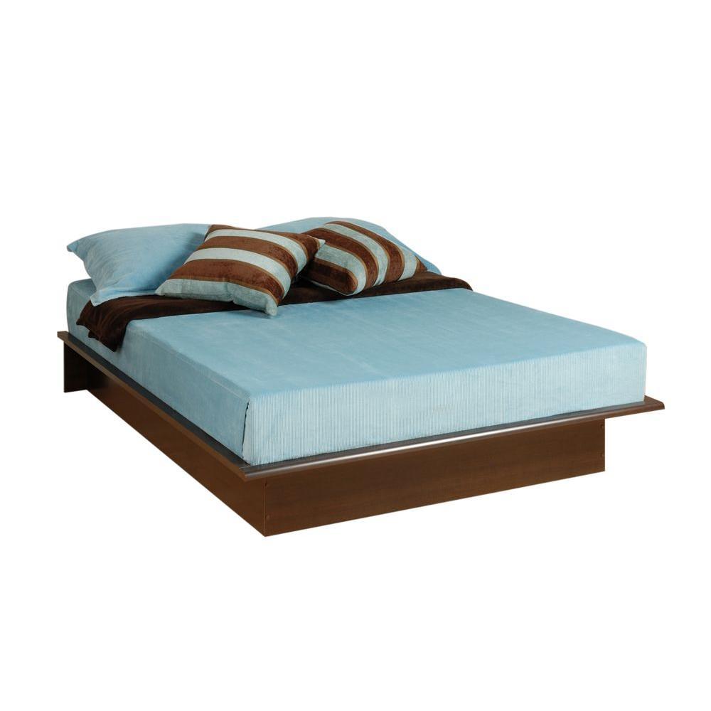 Full Wood Platform Bed