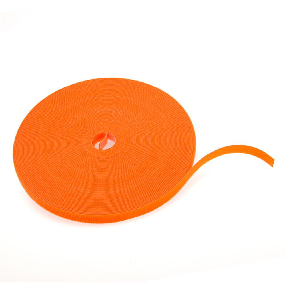 Cable Management Solutions 75 ft. VELCRO Brand Bulk Roll, Orange