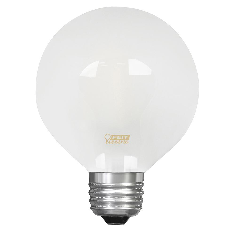 25W Equivalent Soft White G25 Dimmable Frosted Filament LED Medium Base