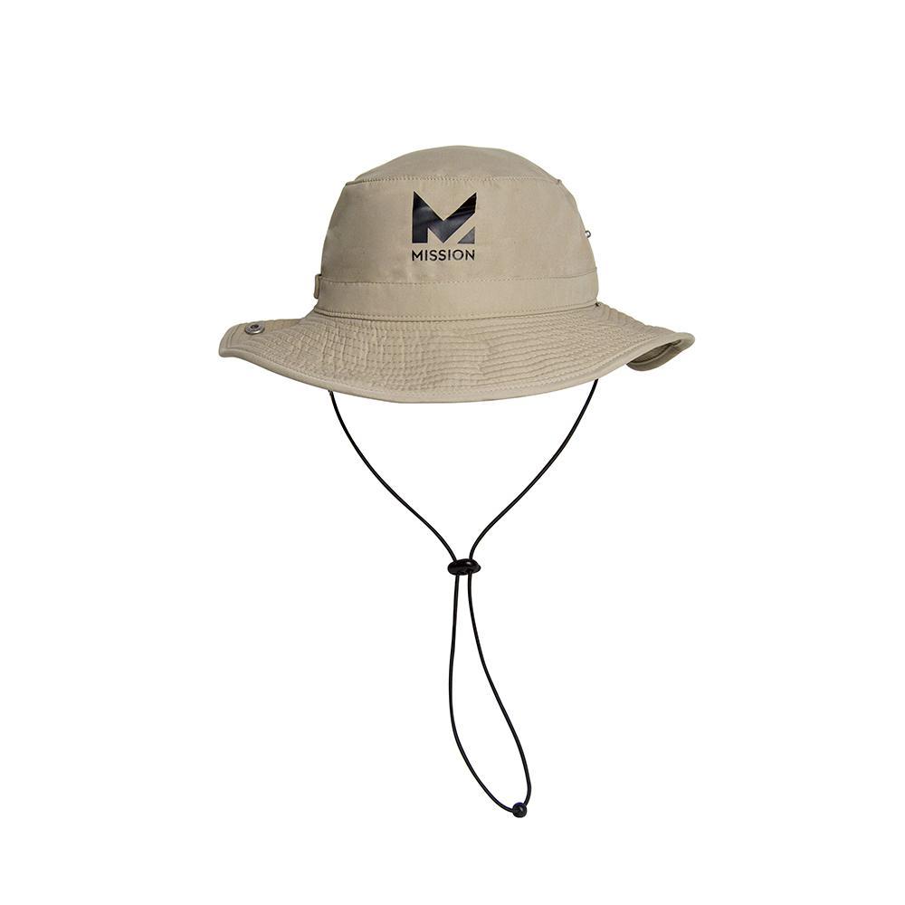 Hydro Active 1-Size Unisex Khaki Polyester Cooling Bucket Hat