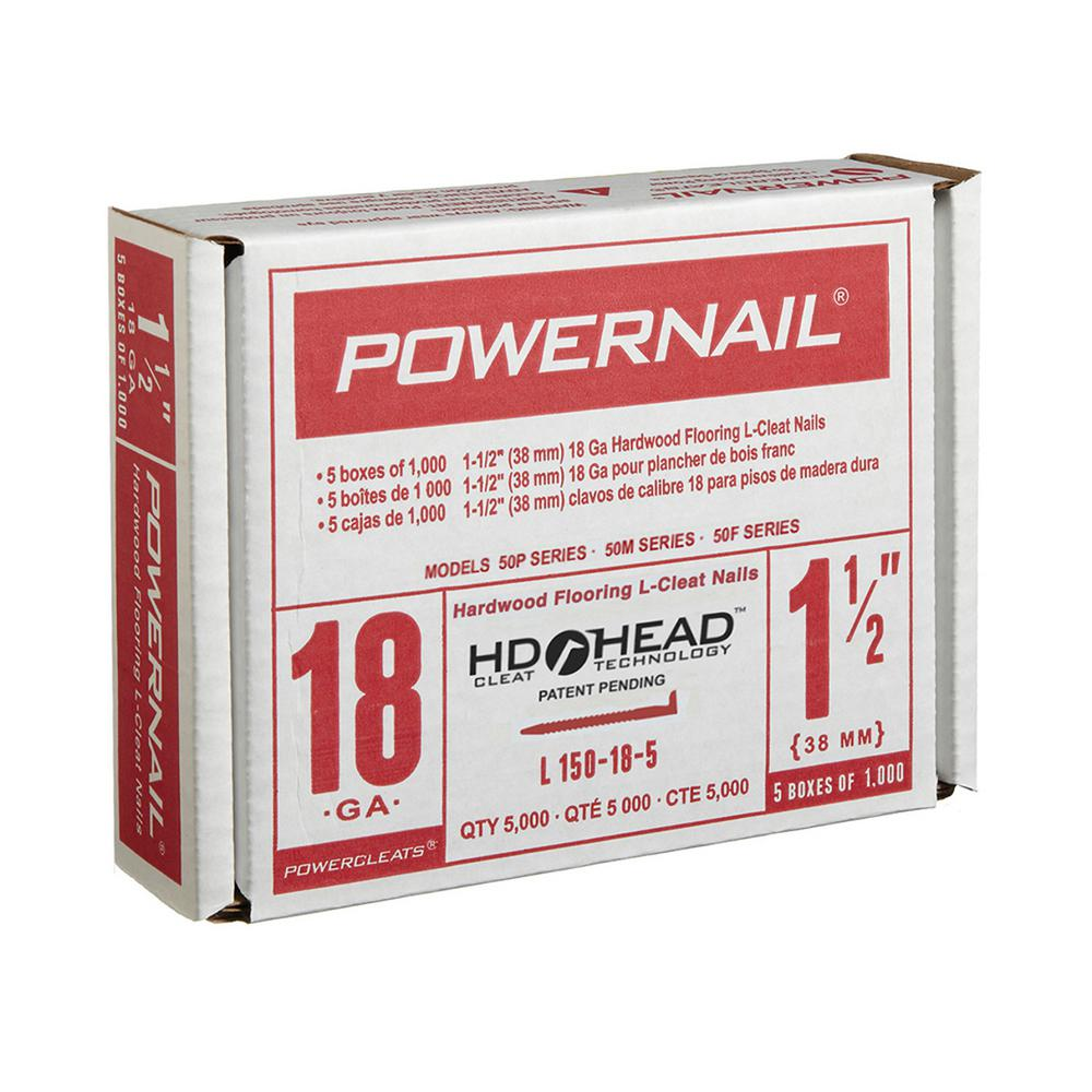 18 Gauge Powercleats Hardwood Flooring Nails 5