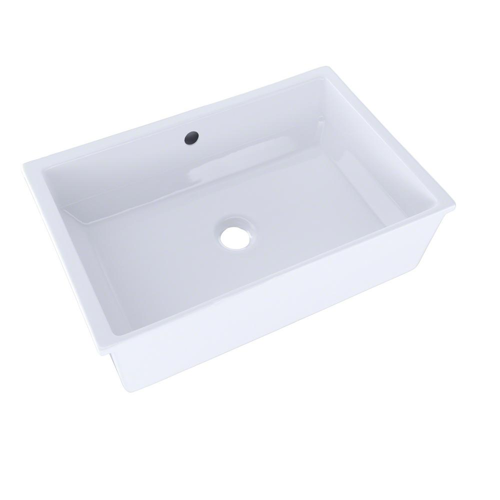 Toto Kitchen Sink Toto vernica i 20 in undermount bathroom sink in cotton white lt156 toto vernica i 20 in undermount bathroom sink in cotton white workwithnaturefo
