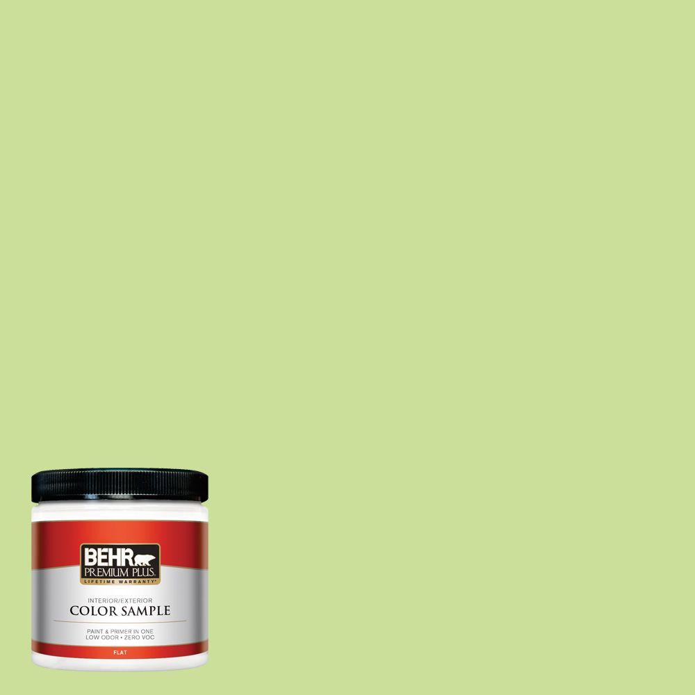 8 oz. #420A-3 Key Lime Interior/Exterior Paint Sample