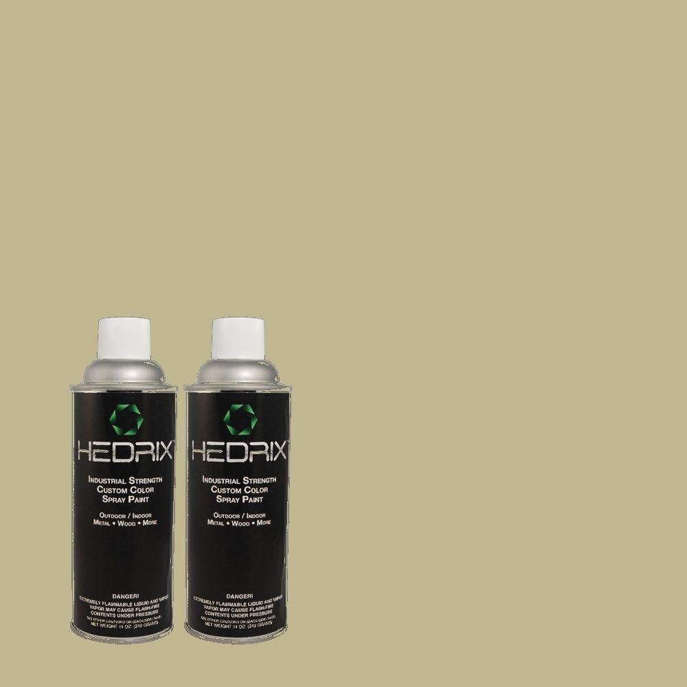 Hedrix 11 oz. Match of PPU9-9 Seedling Gloss Custom Spray Paint (8-Pack)