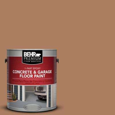 1 gal. #S230-6 Burnt Toffee 1-Part Epoxy Concrete and Garage Floor Paint
