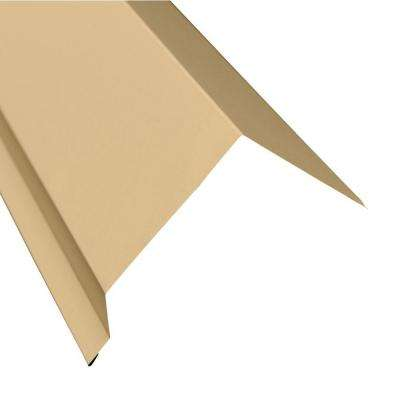 5 in. x 10.5 ft. Eave Flashing Molding in Light Stone