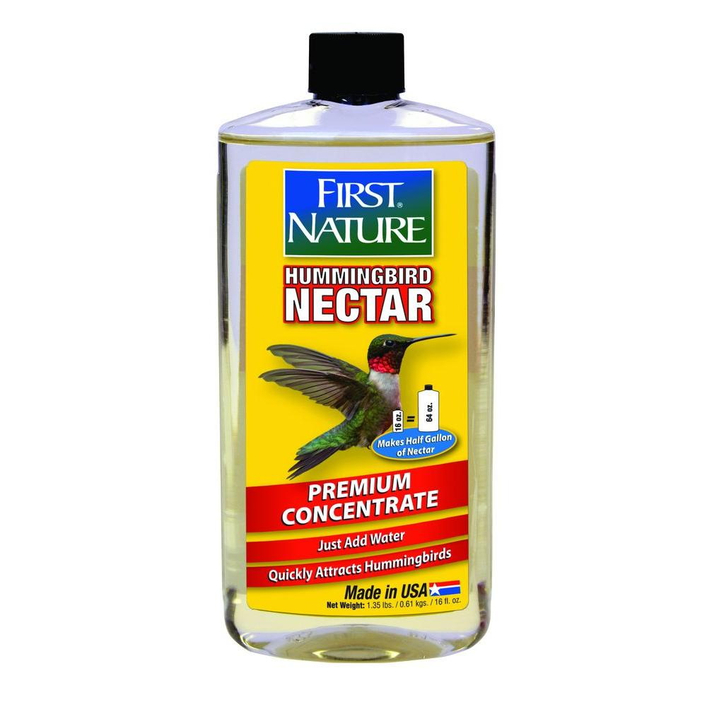 First Nature 16 oz. Clear No-Stain Hummingbird Nectar