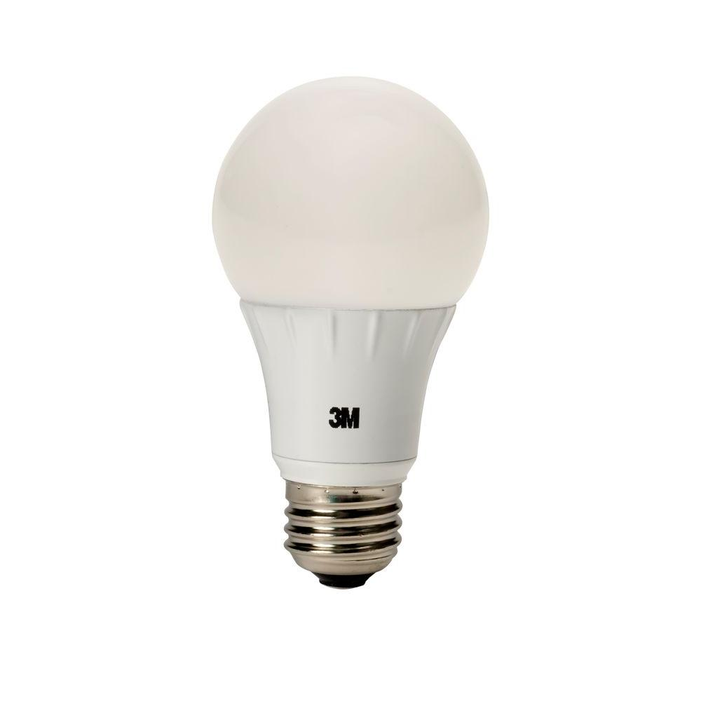 40W Equivalent Soft White A19 240° Dimmable LED Light Bulb