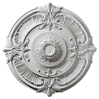 39-1/2 in. x 2-1/2 in. Attica Urethane Ceiling Medallion (Fits Canopies up to 3-3/4 in.)