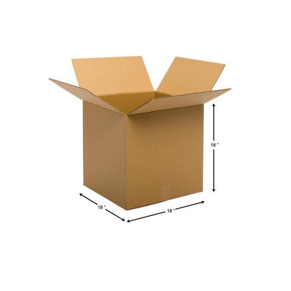 10-13x8x8-32 ECT Corrugated Boxes New for Moving or Shipping Needs