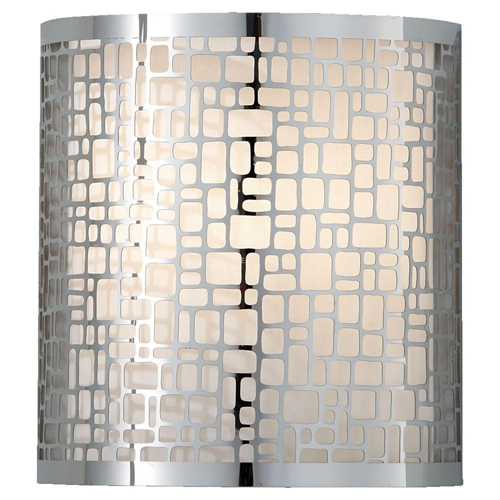 Feiss Joplin 1-Light Chrome Sconce