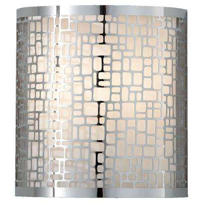 Joplin 1-Light Chrome Sconce
