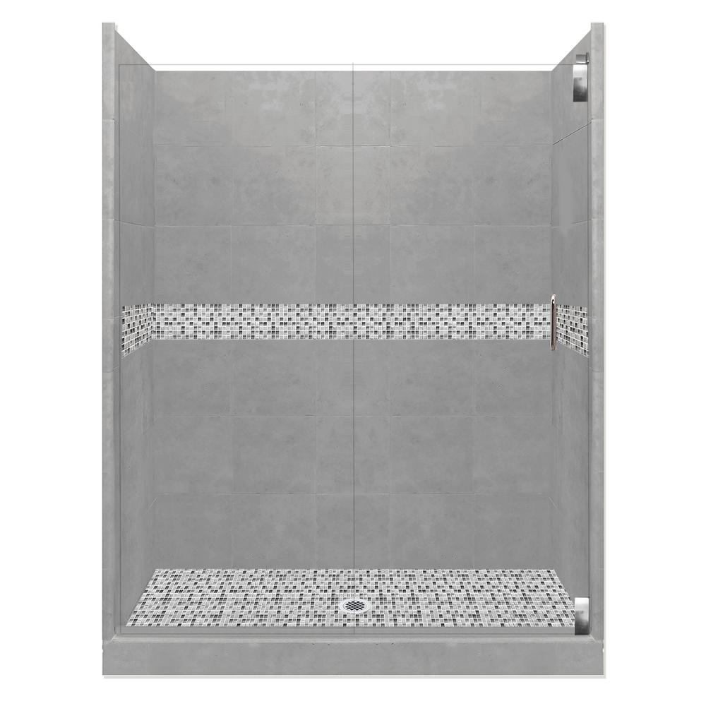 Del Mar Grand Hinged 32 in. x 60 in. x 80