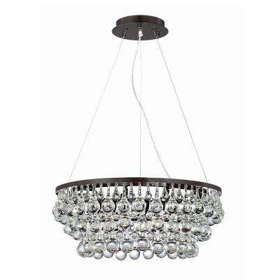 Canto Collection 8-Light Oil Rubbed Bronze Chandelier