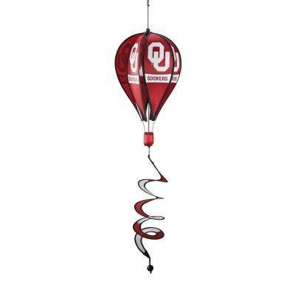 NCAA Oklahoma Sooners Hot Air Balloon Spinner