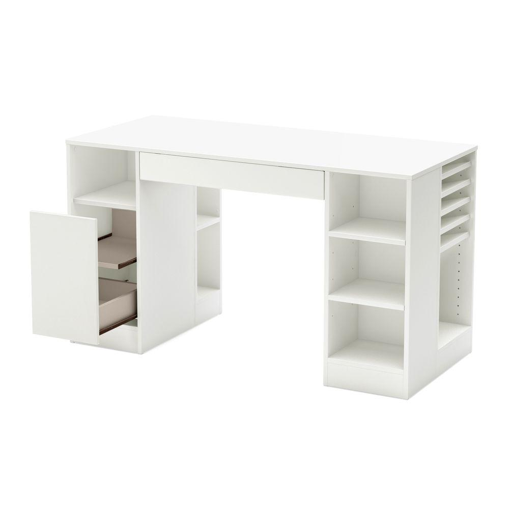 South S Crea Desk In Pure White