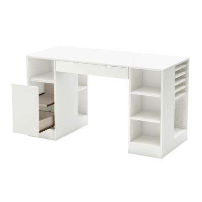 Crea Desk in Pure White
