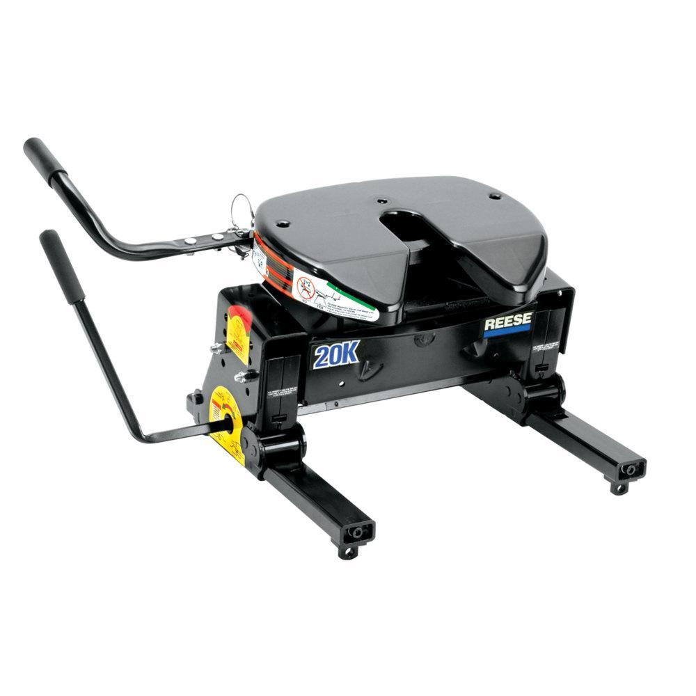 20K Fifth Wheel Hitch with Kwik-Slide Slider