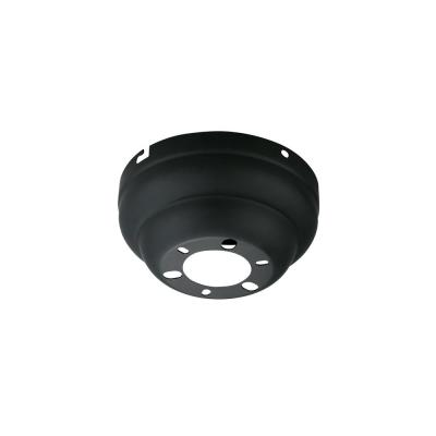 Matte Black Flush Mount Canopy