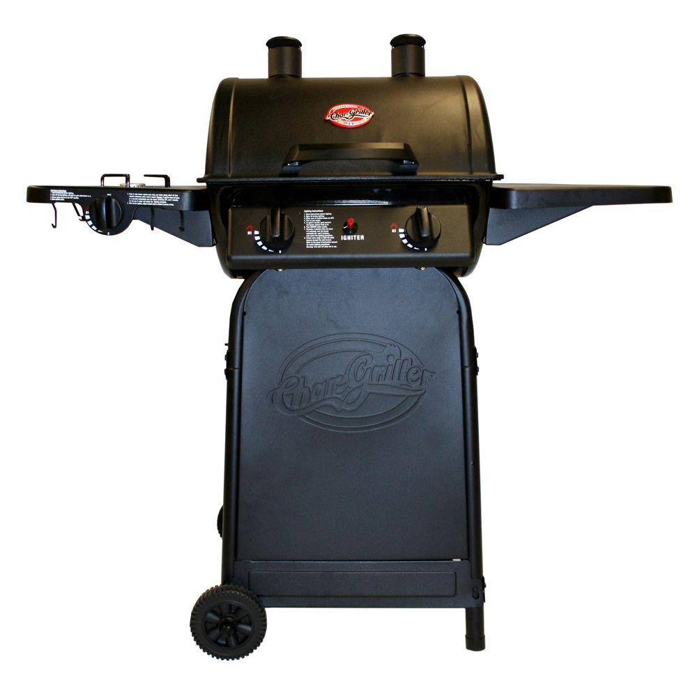Char-Griller Grillin Pro 3-Burner Propane Gas Grill-DISCONTINUED