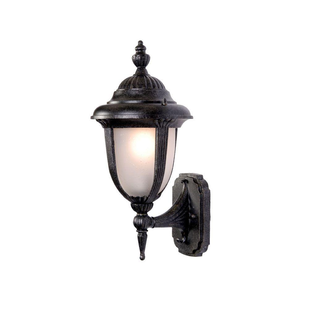 Acclaim Lighting Monterey Collection Wall-Mount 1-Light Outdoor Stone Light Fixture
