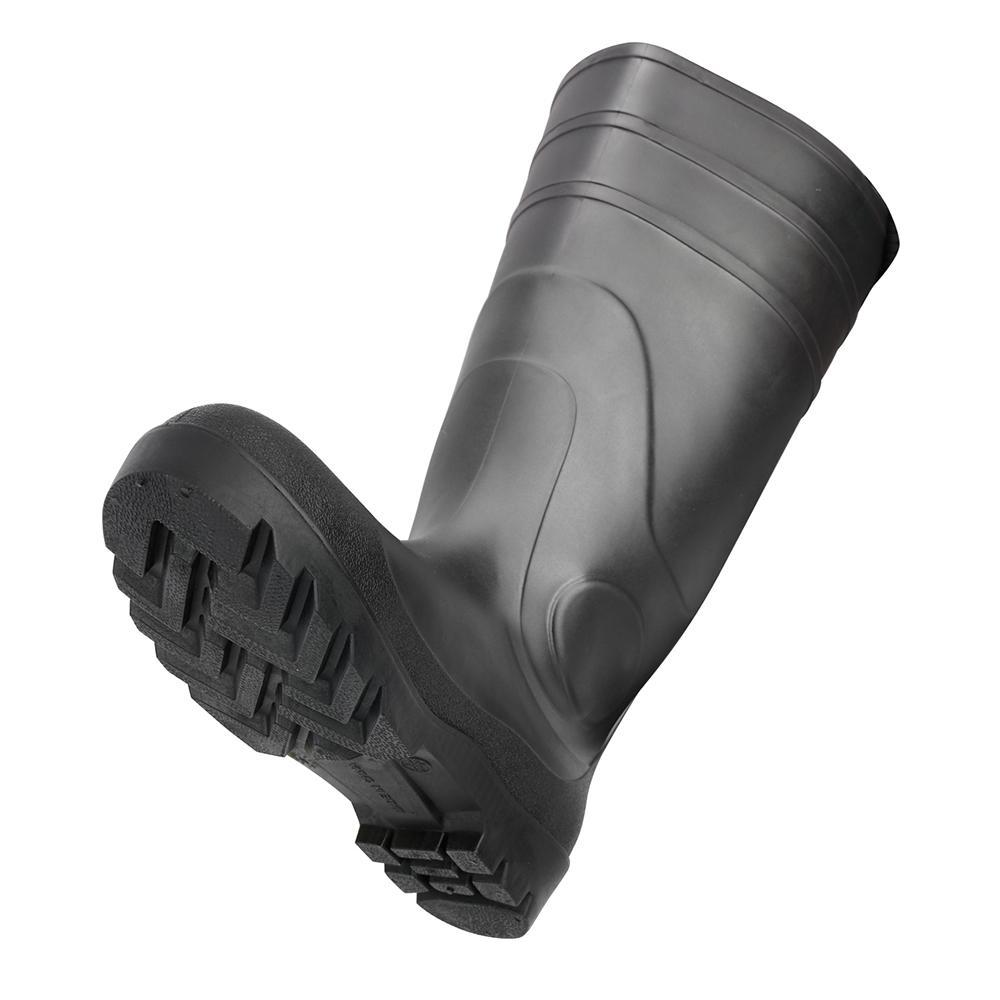 Classic Mens Size 9 Black Pvc Work Boots