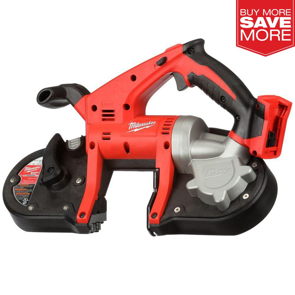 Tool Only Milwaukee 2629-20 Bandsaw M18 18-Volt Cordless Lithium-Ion Band Saw