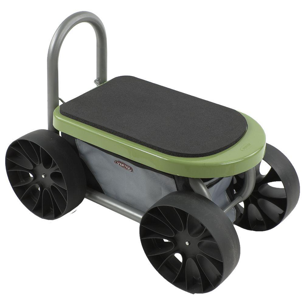 Vertex Easy Up ATV Lawn Cart and Garden Seat