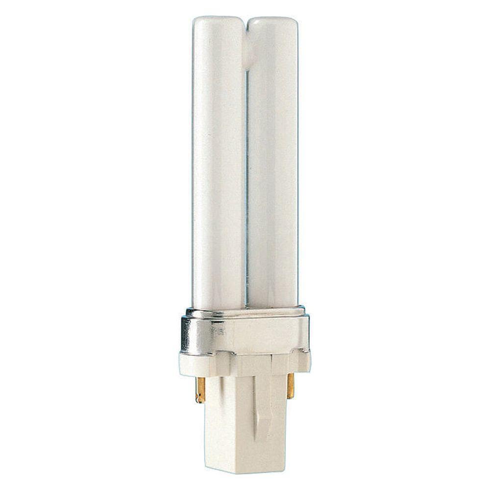 Philips 5 Watt Equivalent Cflni 2 Pin G23 Cfl Light Bulb