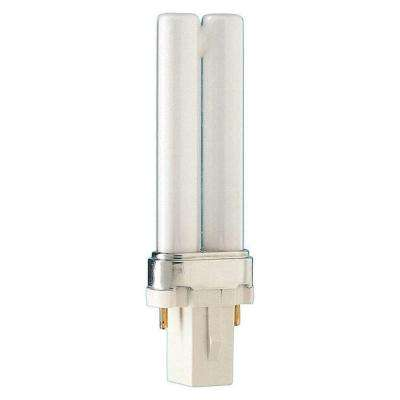 5-Watt Equivalent CFLNI 2-Pin G23 CFL Light Bulb Soft White (2700K)