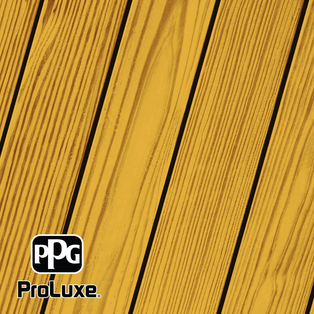 PPG ProLuxe 1 gal. Natural Oak SRD Exterior Transparent Matte Wood Finish