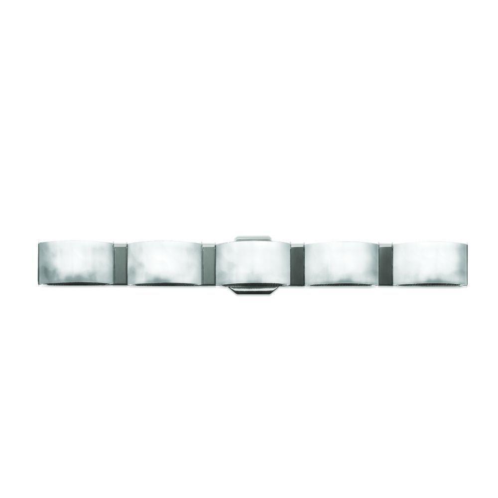 Eurofase Dakota Collection 5-Light Chrome Wall Sconce