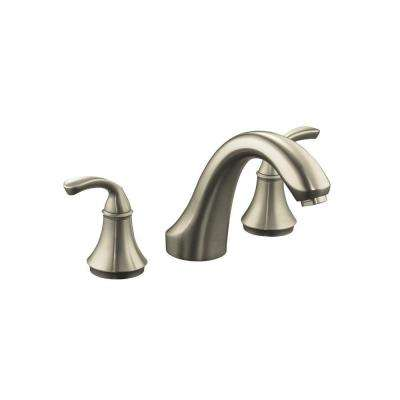 Forte Rim Valve Trim Only in Vibrant Brushed Nickel (Valve Not Included)