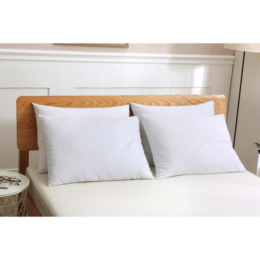 4 Pack Microfiber King Pillow Pack