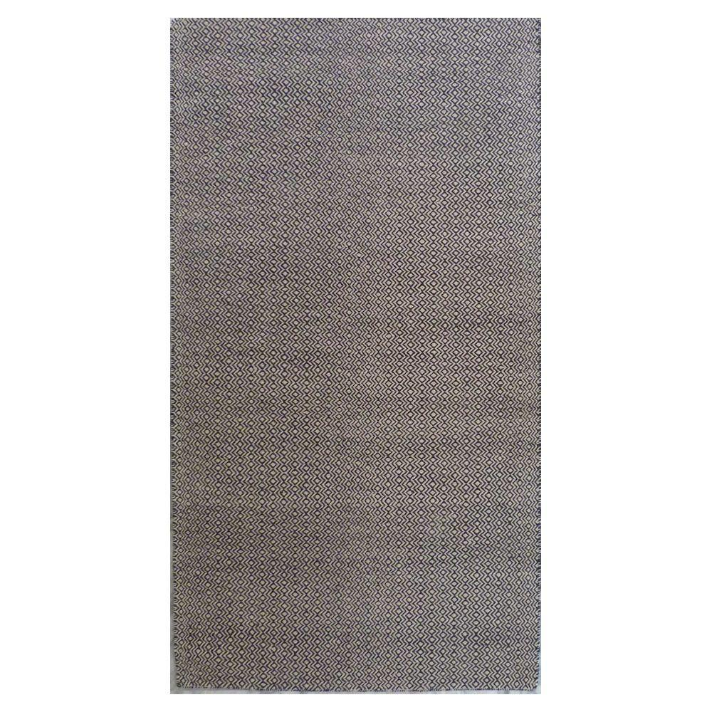 Kas Rugs Playa Dhurrie Dark Chocolate 2 ft. 3 in. x 3 ft. 9 in. Accent Rug