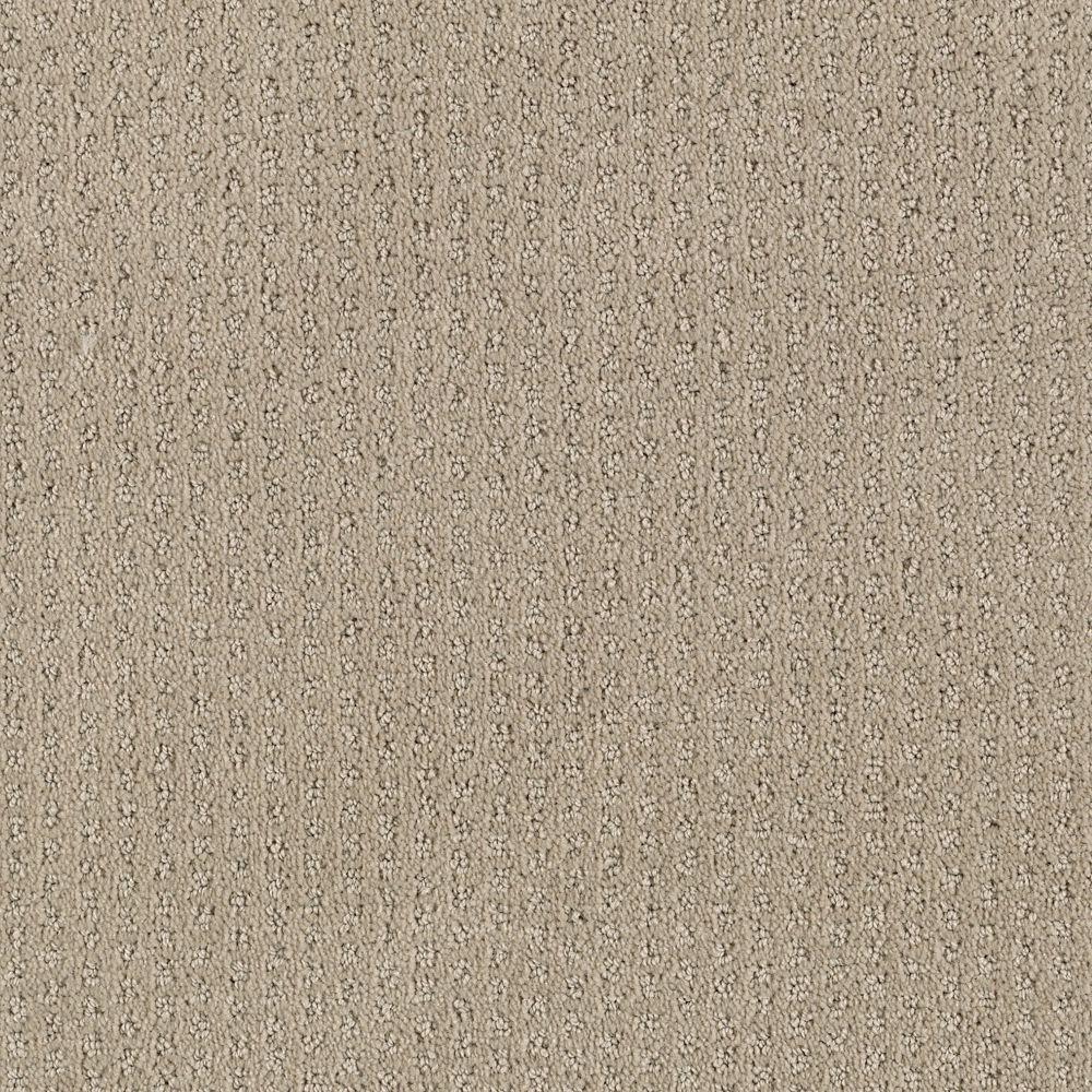 Sequin Sash - Color Mission Beige Pattern 12 ft. Carpet
