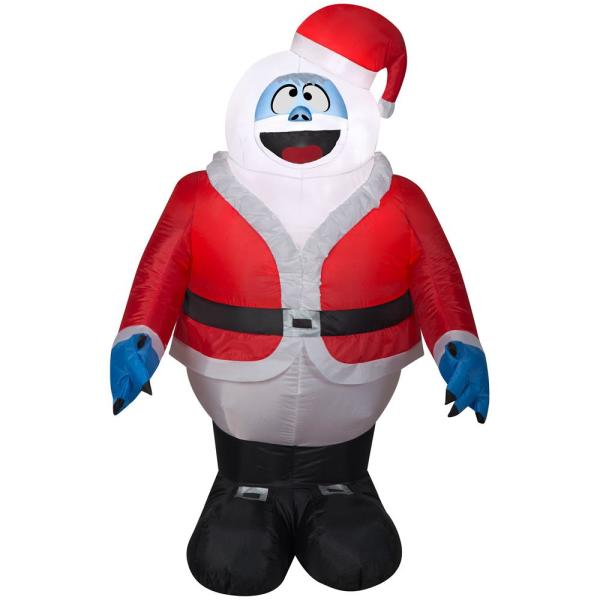 3.5 ft. Inflatable Bumble in Santa Suit