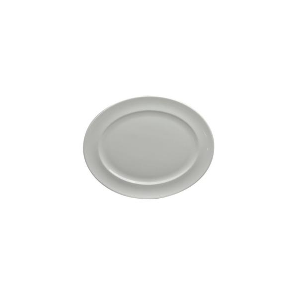 13.5 in. Cromwell Porcelain Oval Platters (Set of 12)