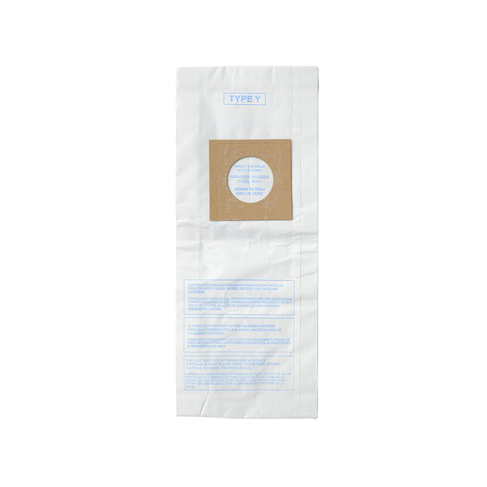 Advantage Hoover Y/Z Replacement Micro Filtration Vacuum Bags Designed for Hoover Upright Vacuums Using Type Y or Z Bags