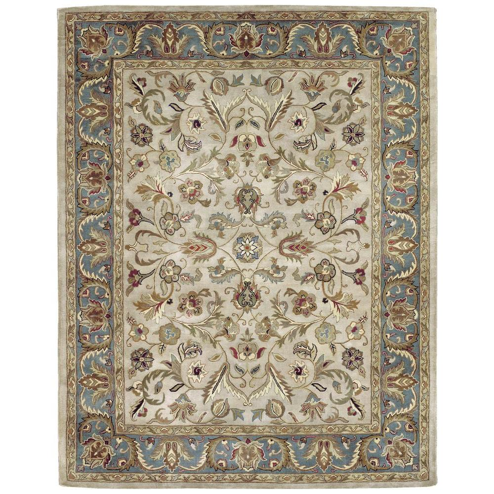 Mystic William Ivory 10 ft. x 13 ft. Area Rug
