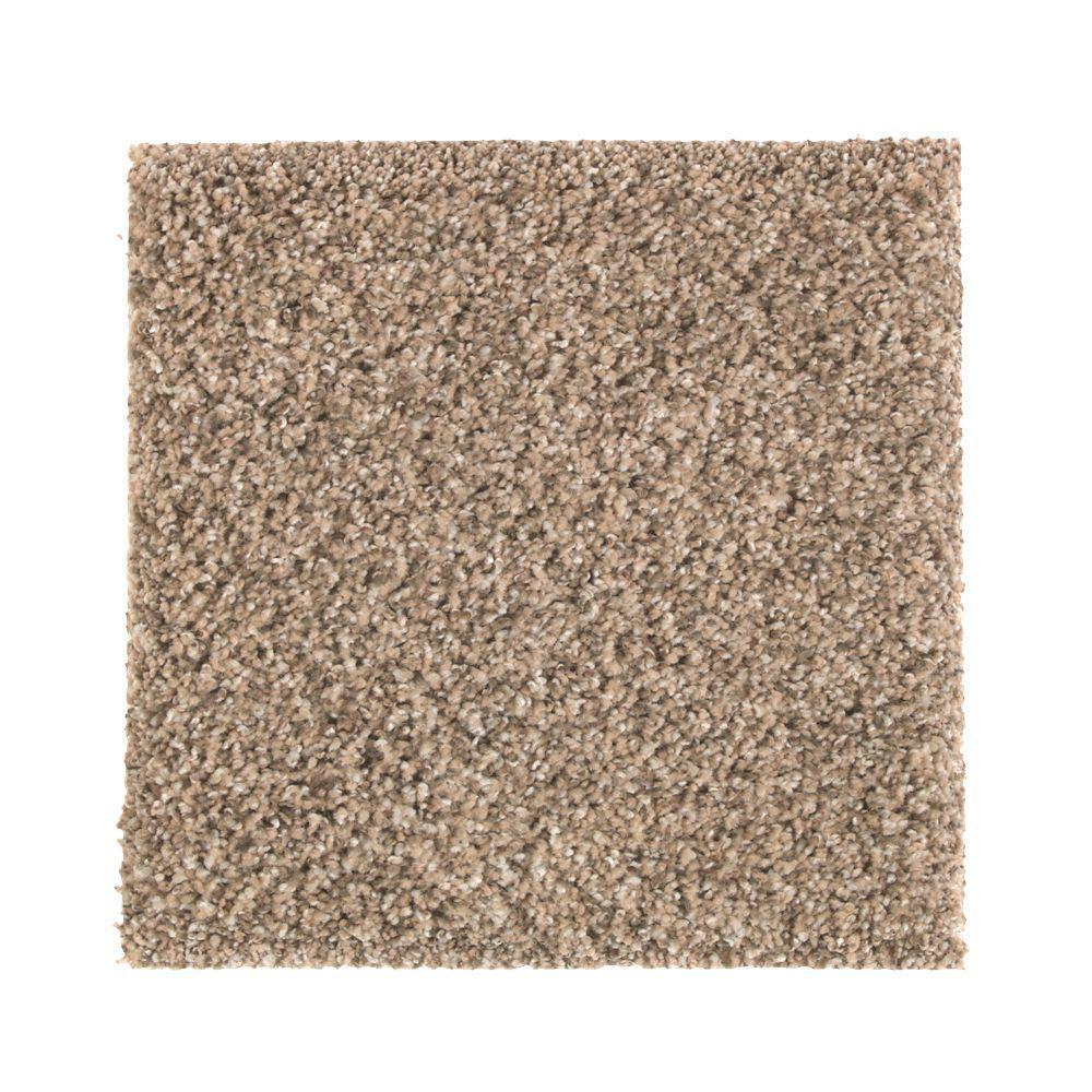 Carpet Sample - Mcbride - Color Creme Brulee Pattern 8 in. x 8 in.