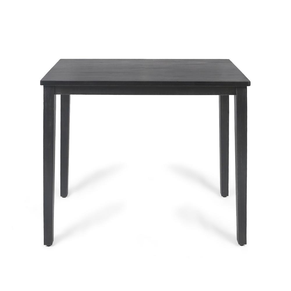 Broughton Dark Grey Bar Table