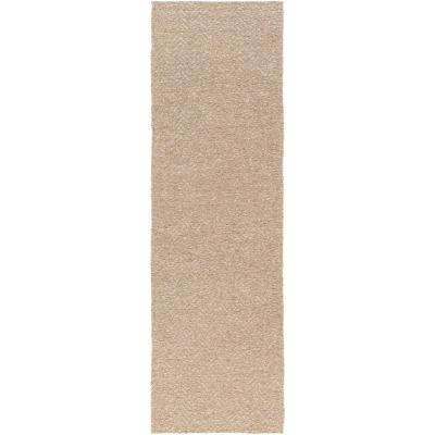 Amambay Taupe 3 ft. x 8 ft. Indoor Runner Rug