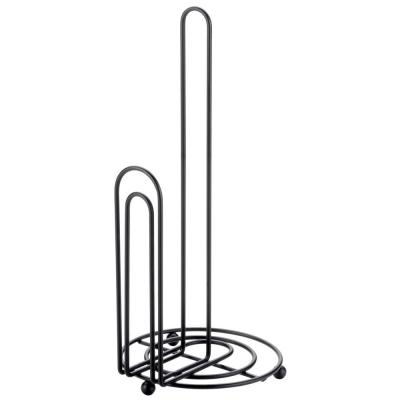 Double Wire Free Standing Paper Towel Holder
