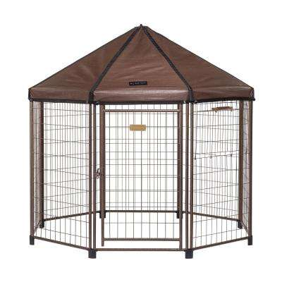 Low Profile 5 ft. Outdoor Dog Kennel