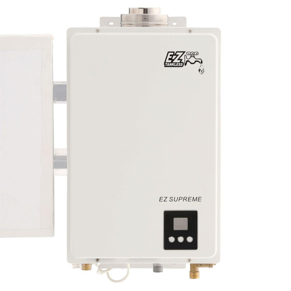 ez tankless supreme on demand 8 2 gpm 165 000 btu lpg propane gas tankless water heater ezsuplpg. Black Bedroom Furniture Sets. Home Design Ideas