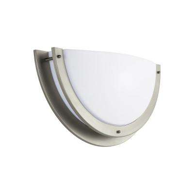 Nexus 14-Watt Brushed Nickel Integrated LED Sconce