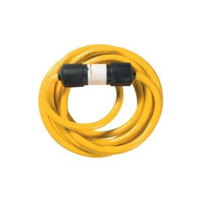 Yellow Jacket 1381 10/4 Extra Heavy-Duty 20-Amp Premium STW Contractor Generator Cord with Twist-to-Lock Ends, 25-Feet
