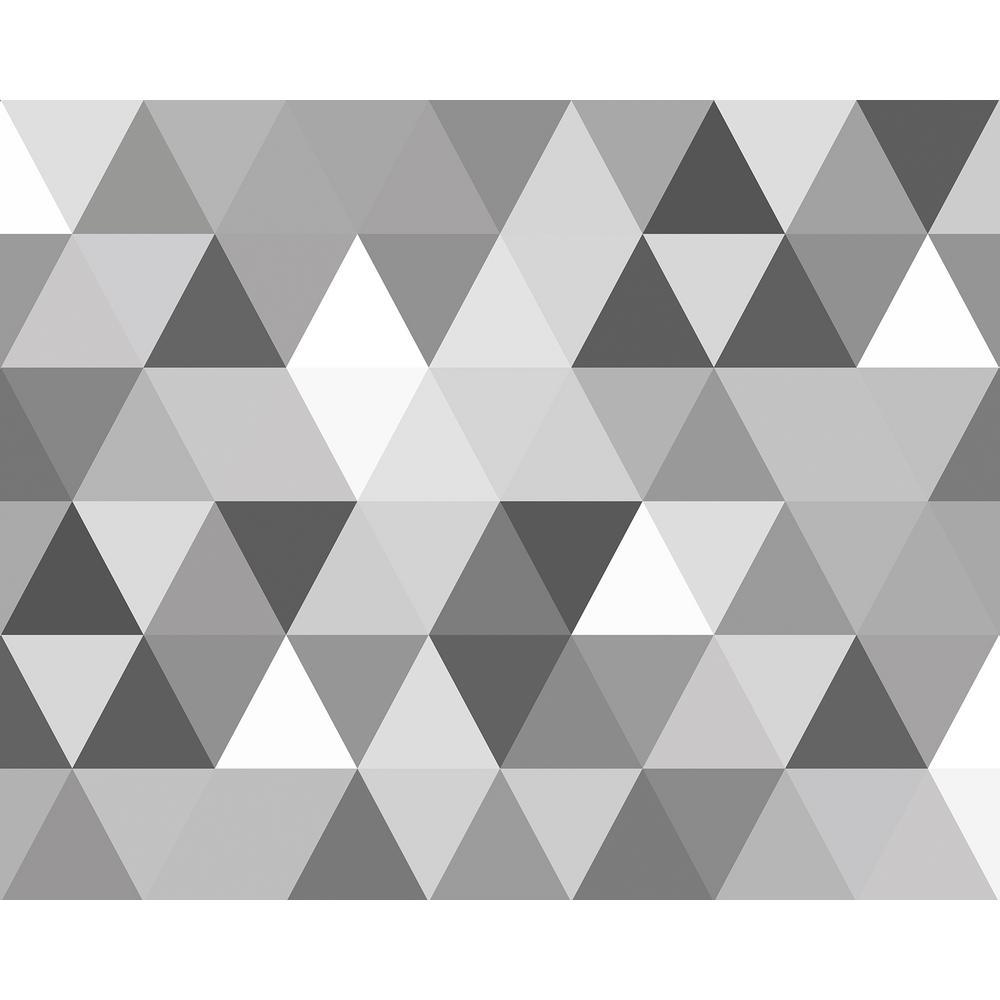 Triangular Geometric Pattern Wall Mural